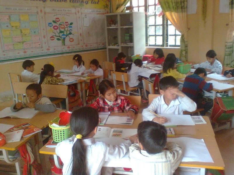 Công tác chuẩn bị cho thi học kỳ 2 của trường THCS Chung Chải