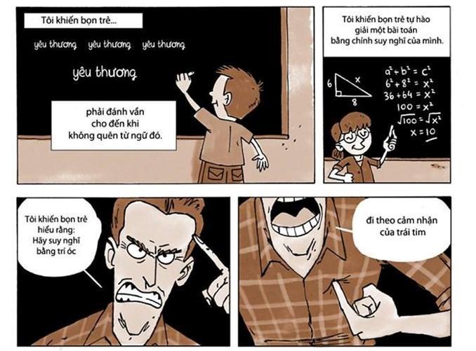 Bộ ảnh 'Giáo viên thì làm được gì cho đời?'