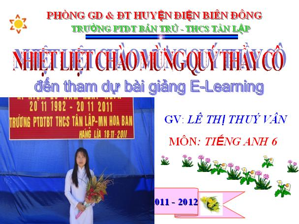 Tiếng Anh: Unit 5 Things I do - Lesson 1: A1-2